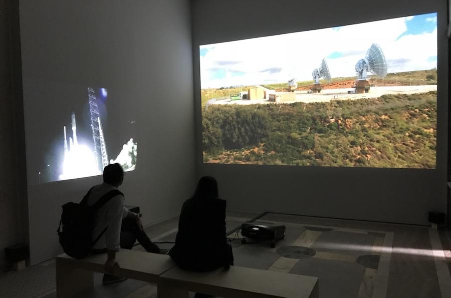 Laura Poitras Signal Flow, 2018 Video installation, Manifesta 12