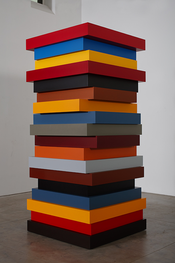 Sean Scully Stack Frieze Sculpture