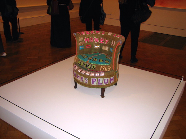 Tracey Emin Chair