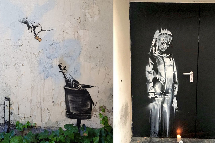 New Banksy Murals Paris