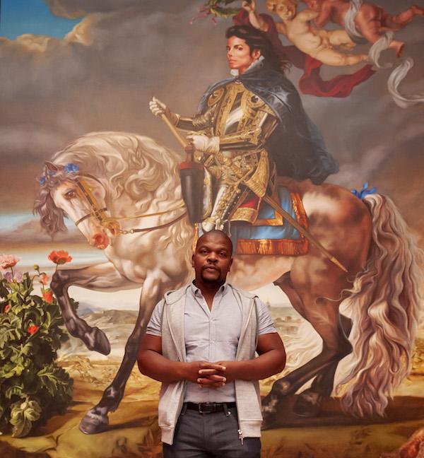 African American artist Kehinde Wiley