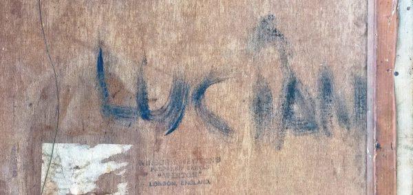 Signature Lucian Freud Landscape