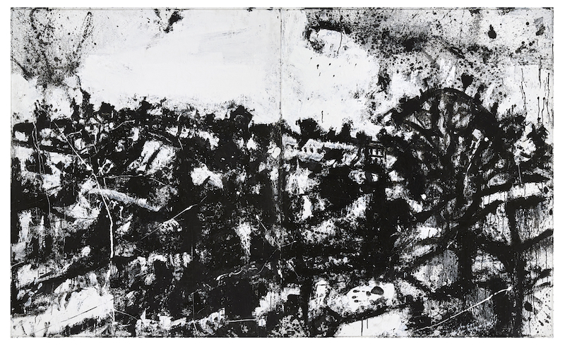 John Virtue, Landscape No.174 (1990 - 1992)