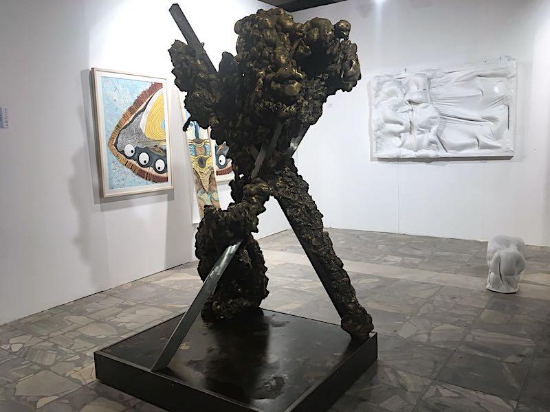 Lynda Benglis Art Athina 2018