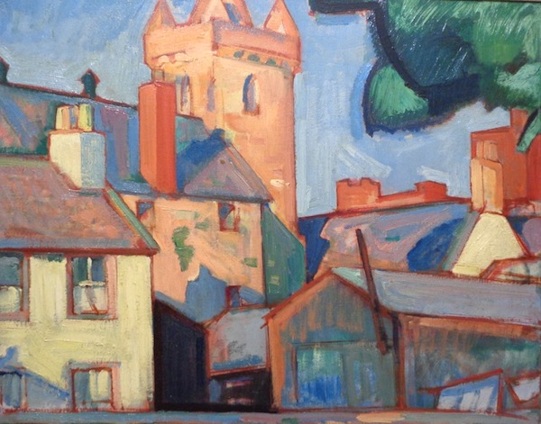 Peploe - View of Kirkcudbright