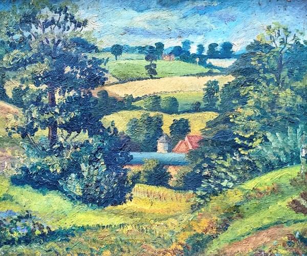 Lucian Freud Landscape