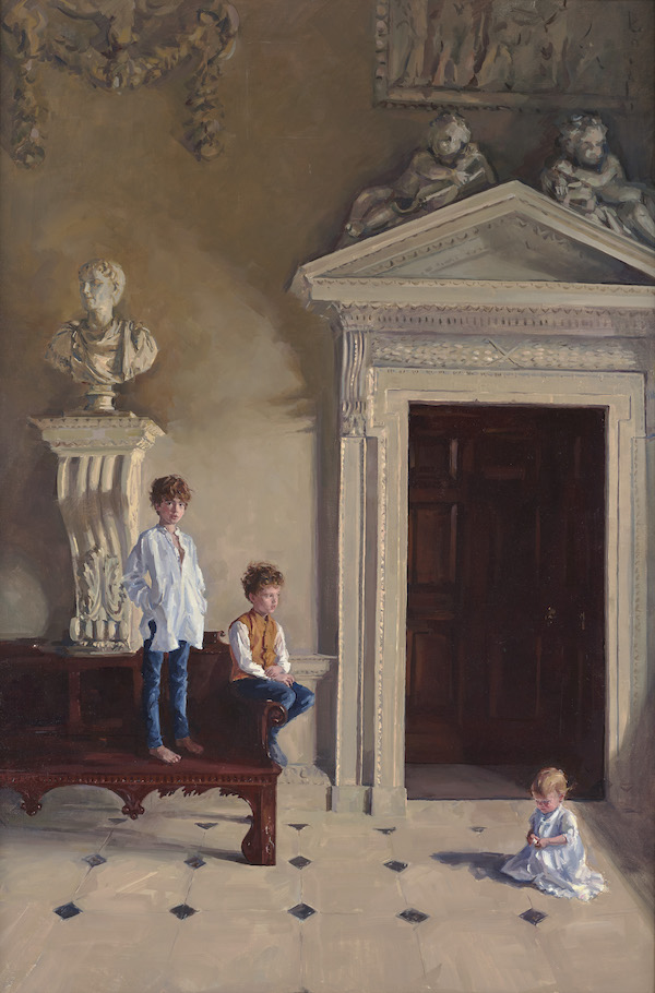 The Cholmondeley Children by Phoebe Dickinson, 2017