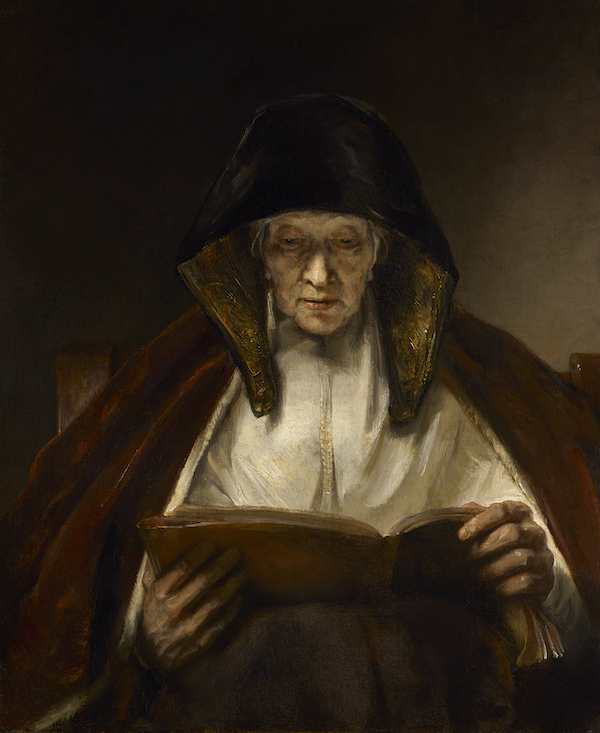 Rembrandt van Rijn (1606-69) An Old Woman Reading, 1655 Oil on canvas, 78.7 x 66 cm Buccleuch Collection