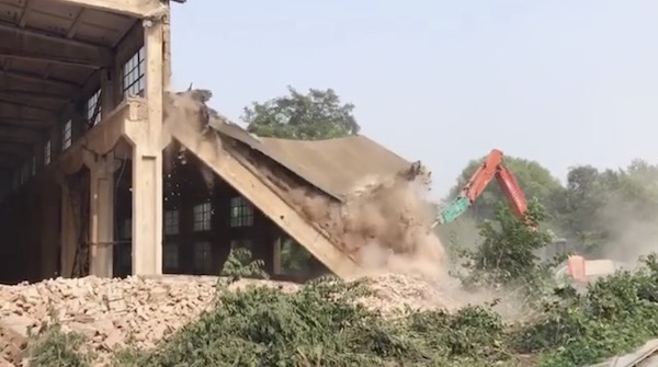 Beijing have demolished my studio