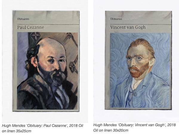 Hugh Mendes Cezanne and Van Gogh Obituaries