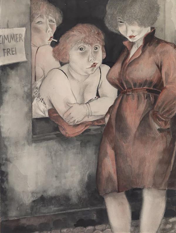 Brüderstrasse (Free Room) (1930), Jeanne Mammen.