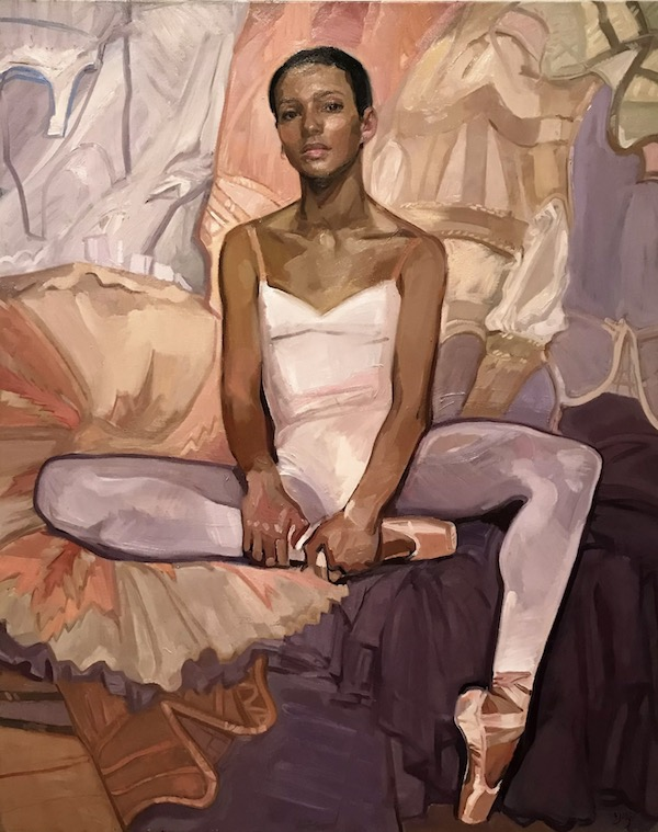 BP Portrait Award 2018 Vanessa Garwood Portrait of Francesca Hayward,