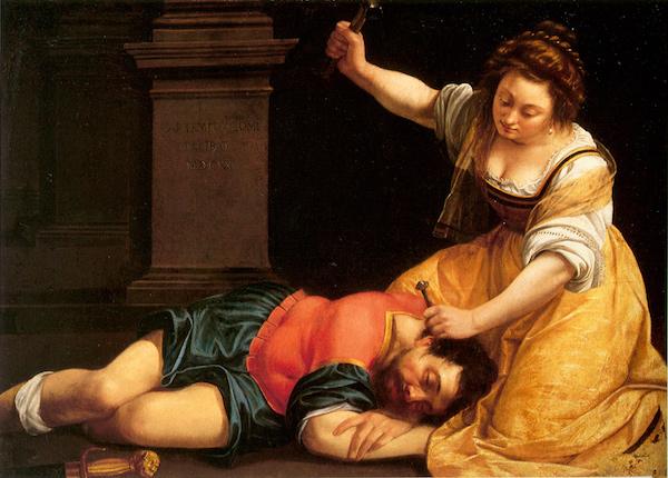 Artemisia Gentileschi 1593 – 1656 Jael and Sisera