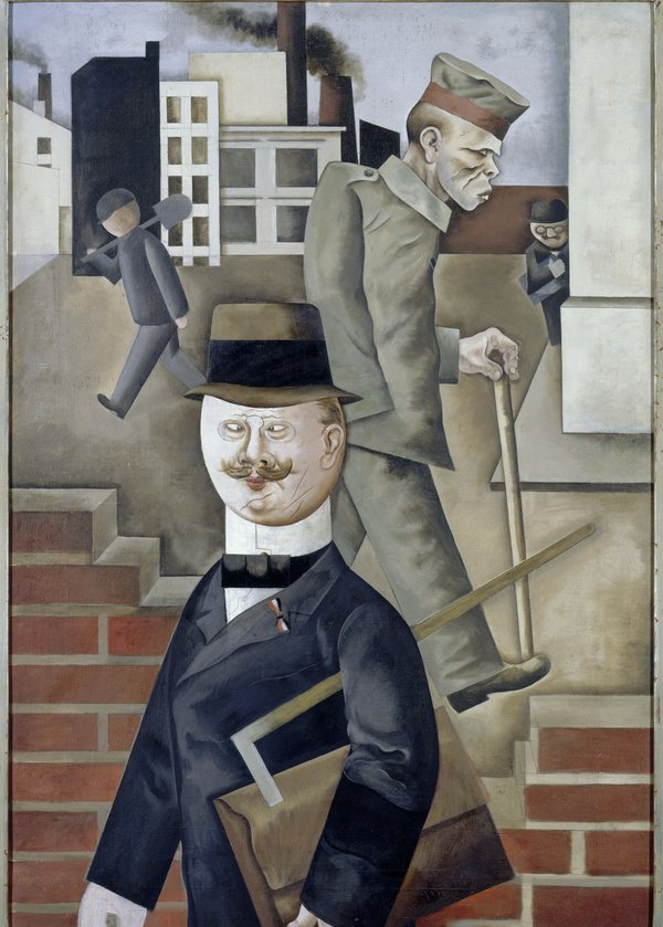 George Grosz (1893-1959), Grey Day, 1921
