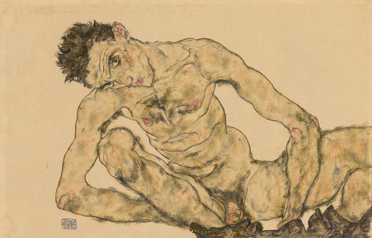 Klimt Schiele drawings RA