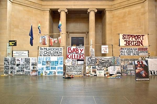 Mark Wallinger's installation State Britain