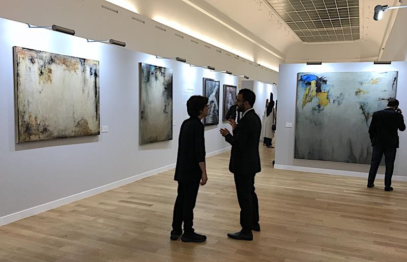 Balqees Fakhro Bahrain Art Week Paris