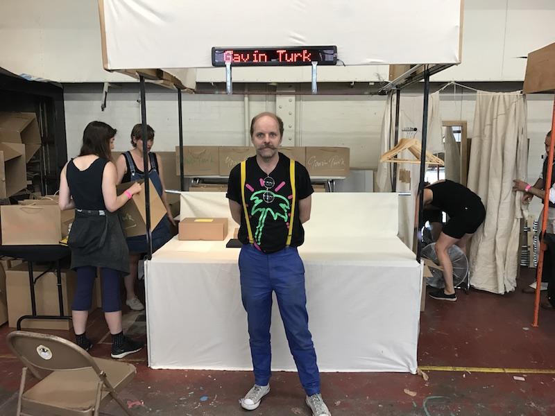 Gavin Turk Art Car Boot Fair