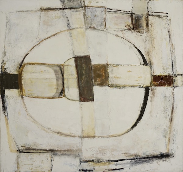 Paul Feiler Scathe, Brown, 1963, Oil on canvas