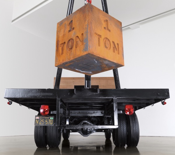 Chris Burden 1 Ton Crane Truck (2009)