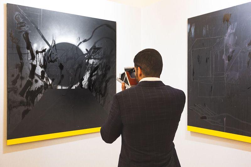 Royal College of Art graduate Salman Alnajem