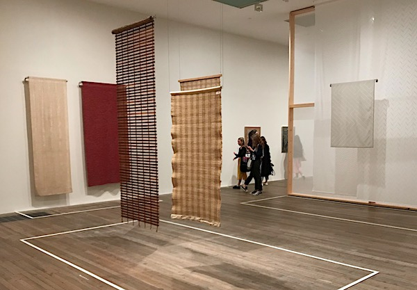 Anni Albers Out of the Frame Display