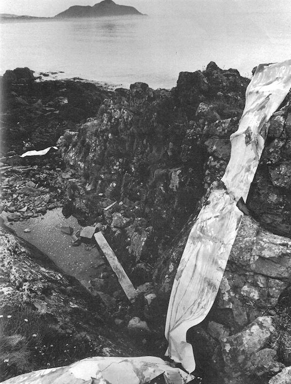 Bruce McLean Rockskape Largiebeg 1969
