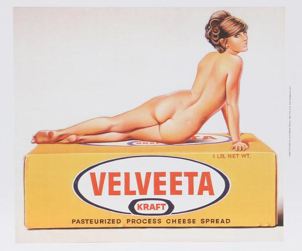 Artist: Mel Ramos, American (1935 - 2018) Title: Velveeta