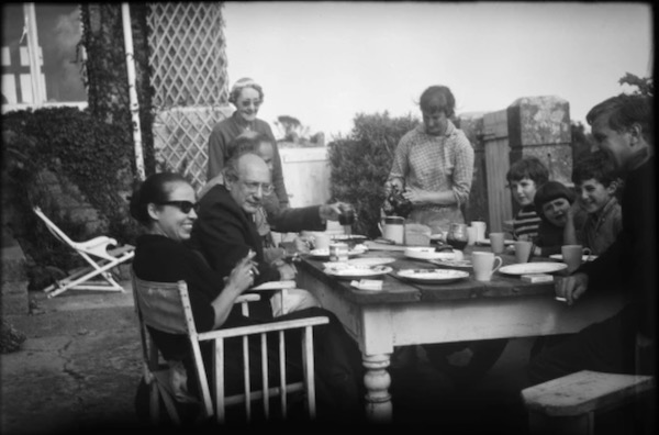 Tea With Rothko at the Feiler's home in Penzance