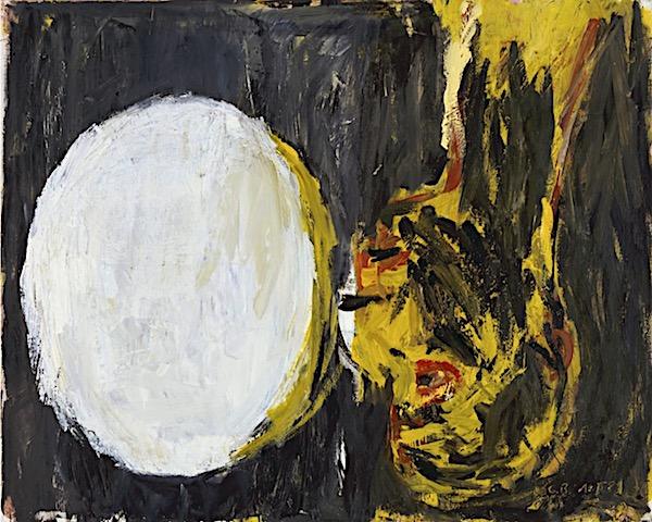 Georg Baselitz, Blick aus dem Fenster [View out of the Window], 1982.
