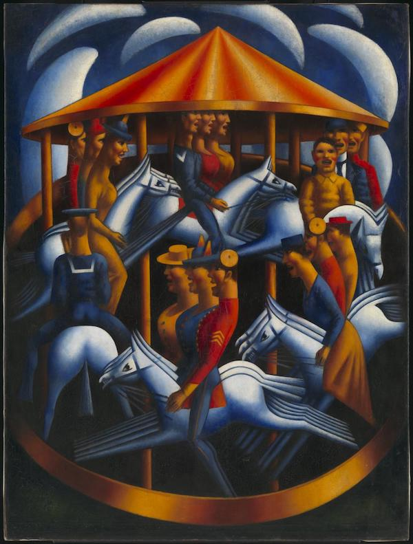 Merry-Go-Round 1916 Mark Gertler