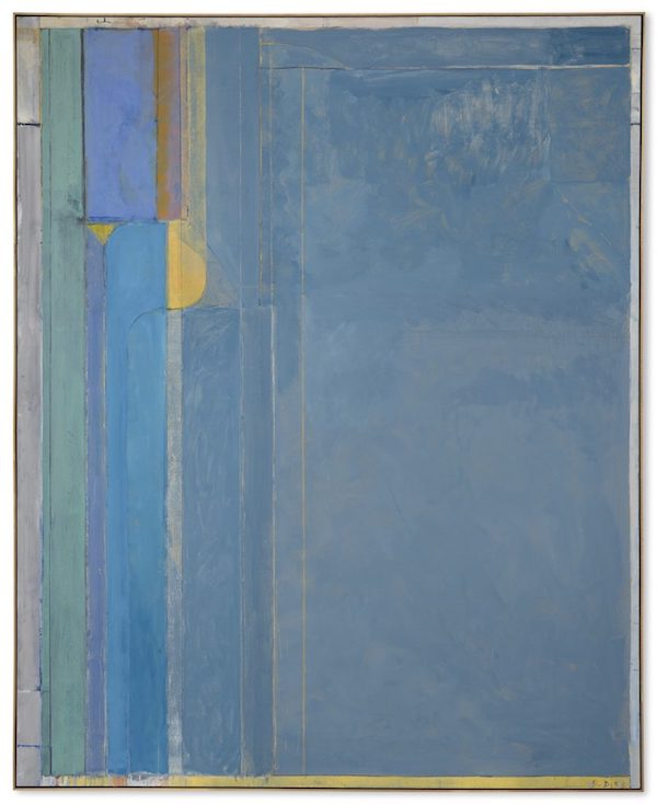 Richard Diebenkorn's Ocean Park series #137, 1985