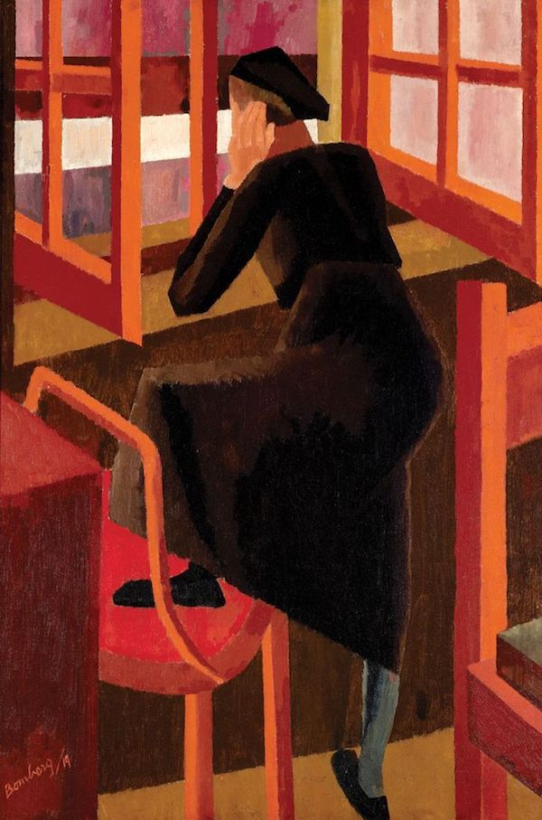 David Bomberg, At the Window (1919) © Sotheby's images Sold for £550,000 yesterday