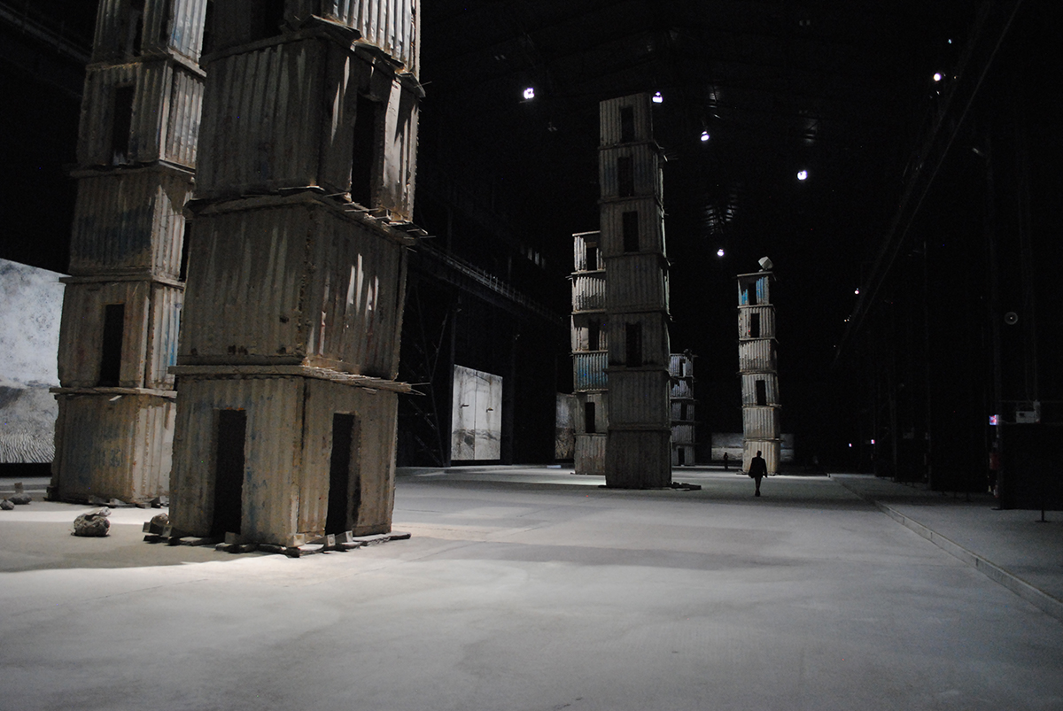 Anselm Kiefer, The Seven Heavenly Palaces, 2004-2015, installation, Pirelli HangarBicocca