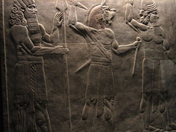 I am Ashurbanipal king of the world, king of Assyria