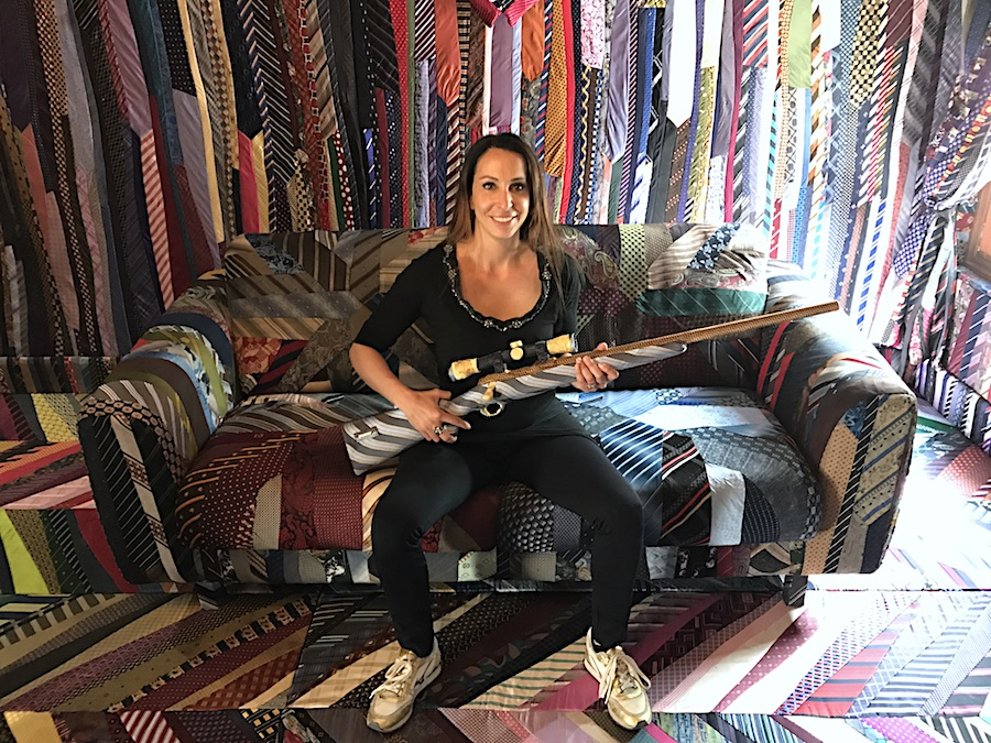 Michal Cole brings her Necktie Room to Scope Miami Beach for Art Basel Week