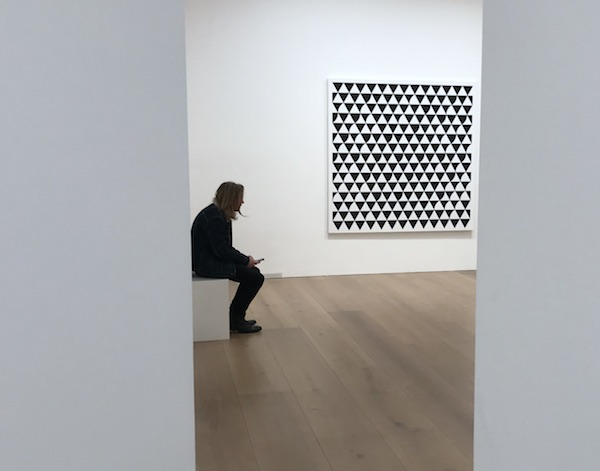 Bridget Riley David Zwirner Photo © Artlyst 2018