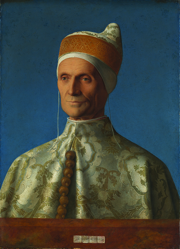 Giovanni Bellini Portrait of Doge Leonardo 1501