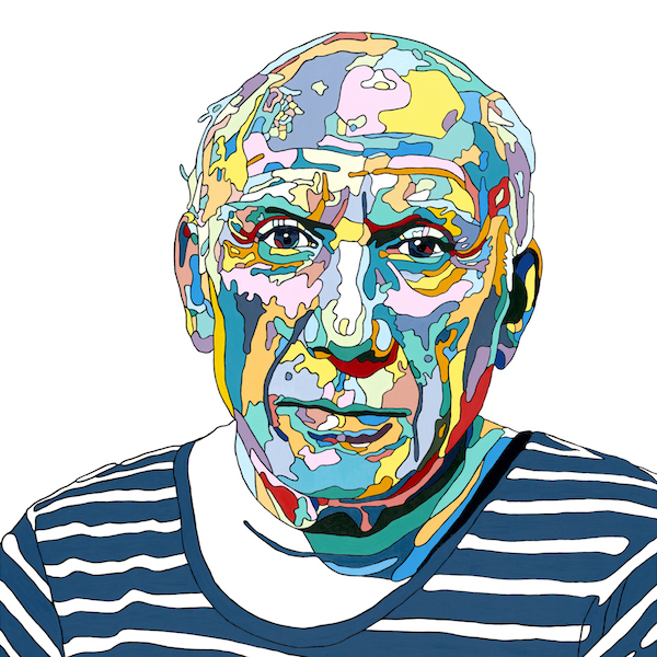 Pablo Picasso by Paul Lock