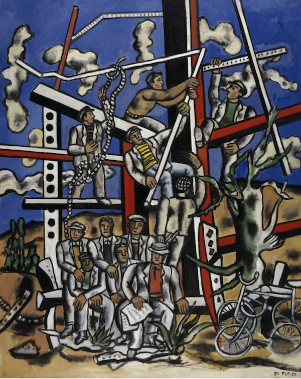 Fernand Léger Study For Constructors 1950