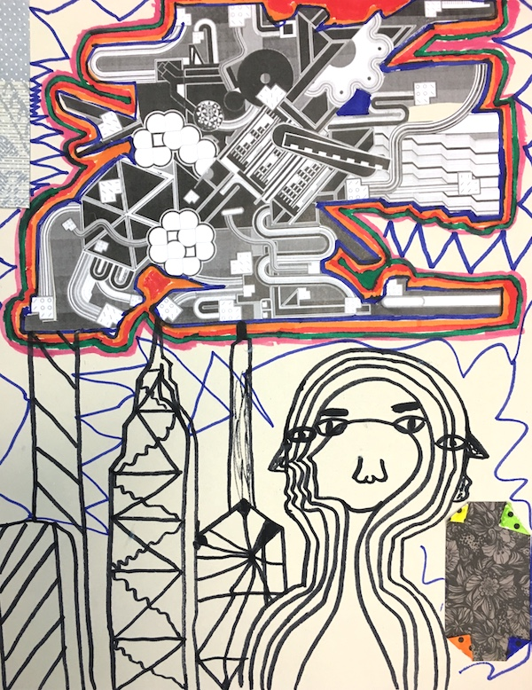 Eduardo Paolozzi Artwork Inspired by Devang Sukumaran