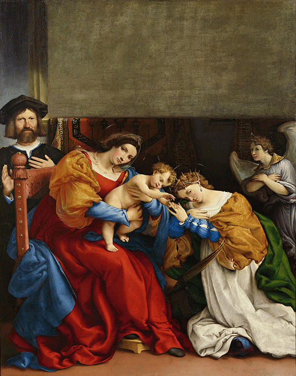 National Gallery: Lorenzo Lotto Portraits