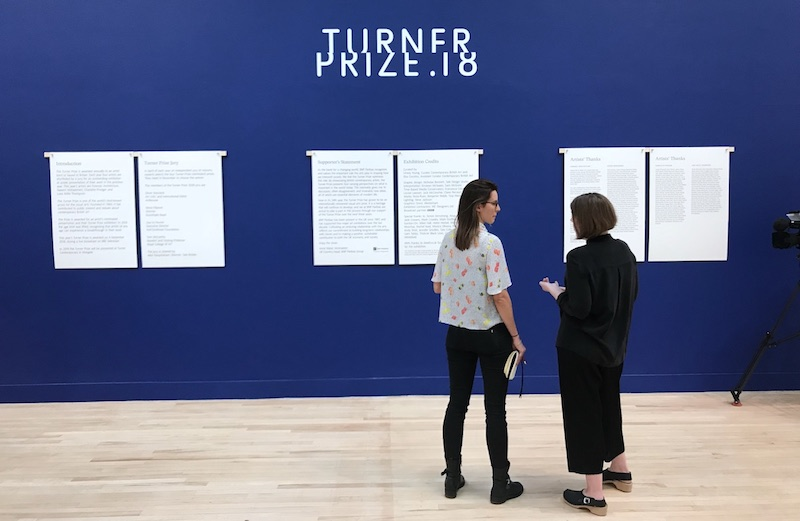 Turner Prize 2018 Photo © Artlyst 2018