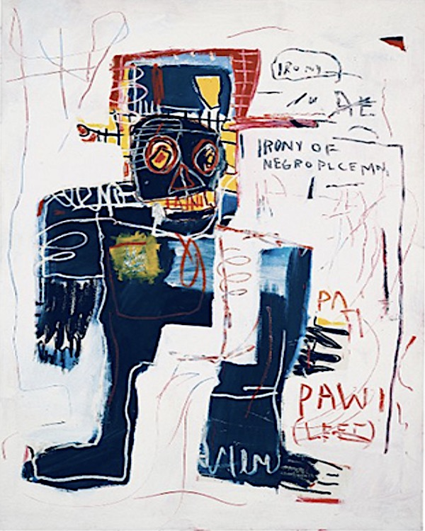 Jean-Michel Basquiat Irony of a Negro Policeman 1981