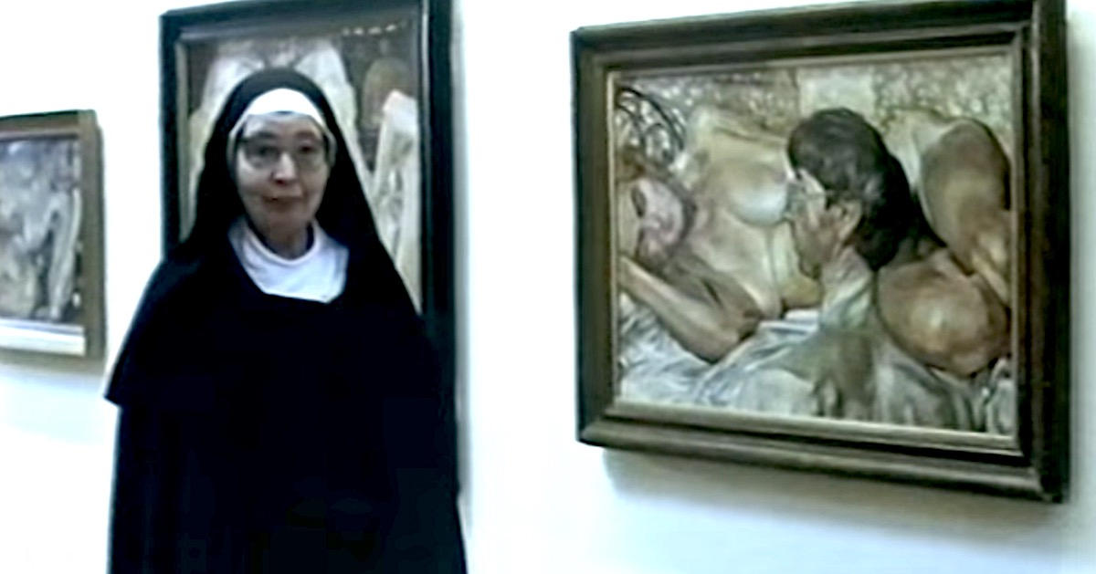 Sister Wendy discusses the work of Sir Stanley Spencer