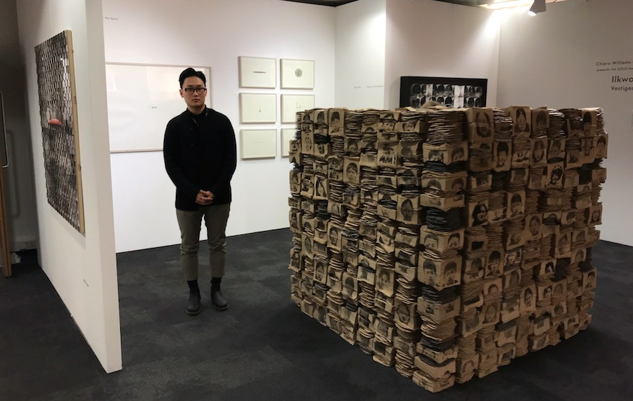 Ilkwon Yoon At Chiara Williams Contemporary, winner of the Contemporary Solo Award™