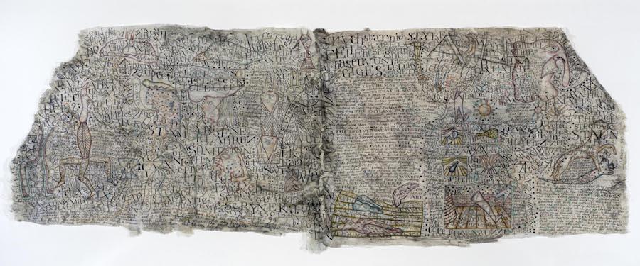 Simon Lewety, calligraphic works evoke mediaeval manuscripts Art First