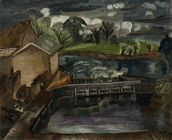 Frances Hodgkins Flatford Mill 1930 Collection of Towner Gallery