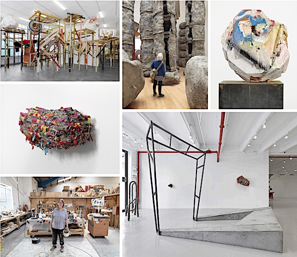 Phyllida Barlow RA cul-de-sac The Gabrielle Jungels-Winkler Galleries Royal Academy