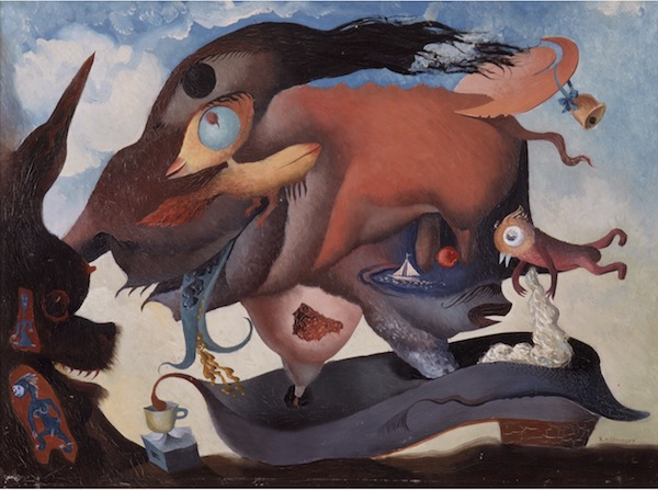 Reuben Mednikoff (artist, 1906-1972) The Flying Pig 1936